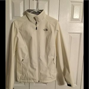 North Face winter white jacket